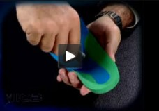 Using Heat to make deflection in ICB orthotic