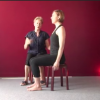 Back & Hip Stability – Exercising while Sitting